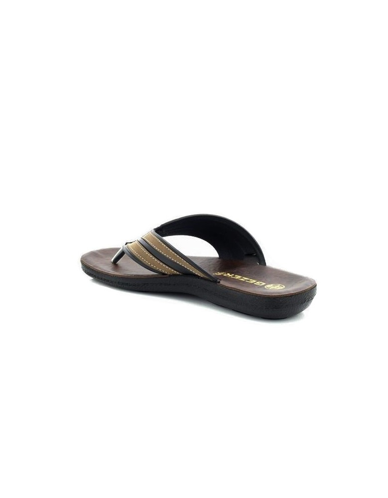 6041352c29d Mens Gezer Summer Beach Slider Toe Post Mule Sandals Flip Flop Comfy Sports  Slippers