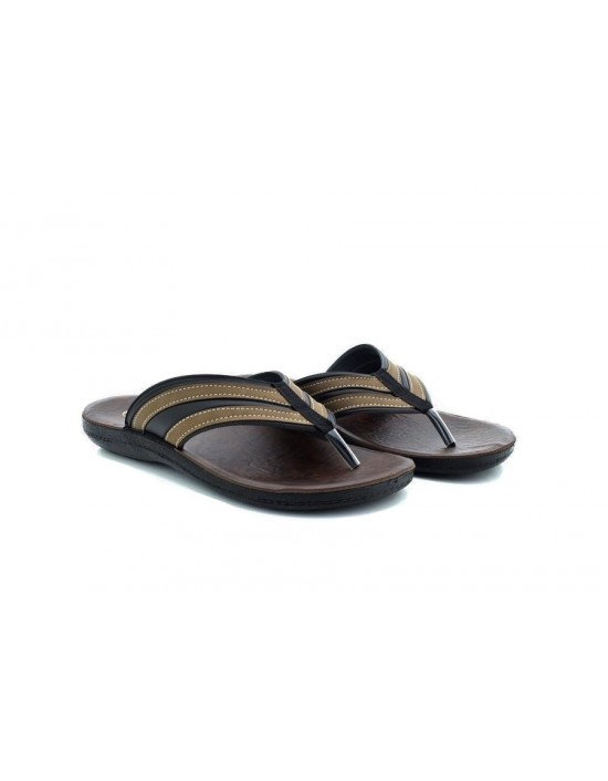 Mens Gezer Summer Beach Slider Toe Post Mule Sandals Flip Flop Comfy Sports Slippers