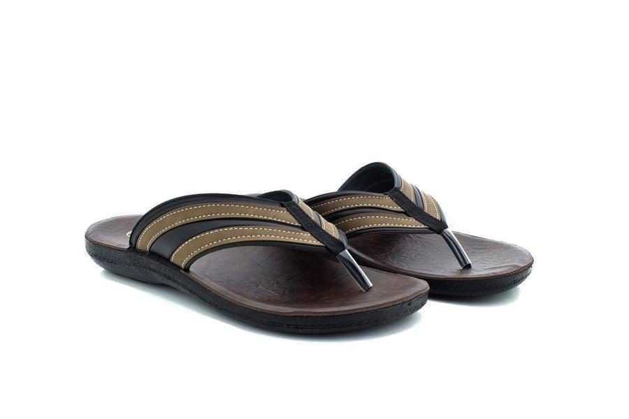 361c7141703bc Mens Gezer Summer Beach Slider Toe Post Mule Sandals Flip Flop Comfy S
