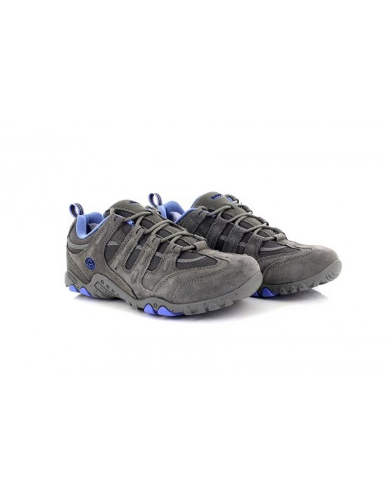 Ladies Hi-Tec Quadra Classic Outdoors Walking Trekking Shoes Trainers