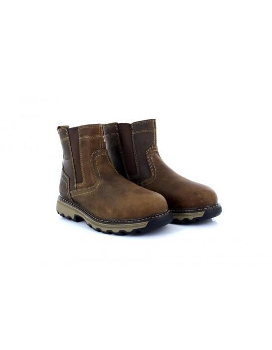 Caterpillar 'PELTON ST' Lightweight Ease Comfort Industrial Safety Boots