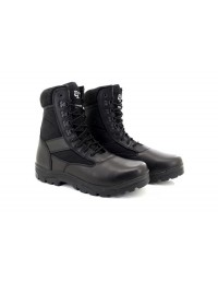 Grafters G-FORCE M668 Unisex Leather Uniform Military Combat Boots Black Brown