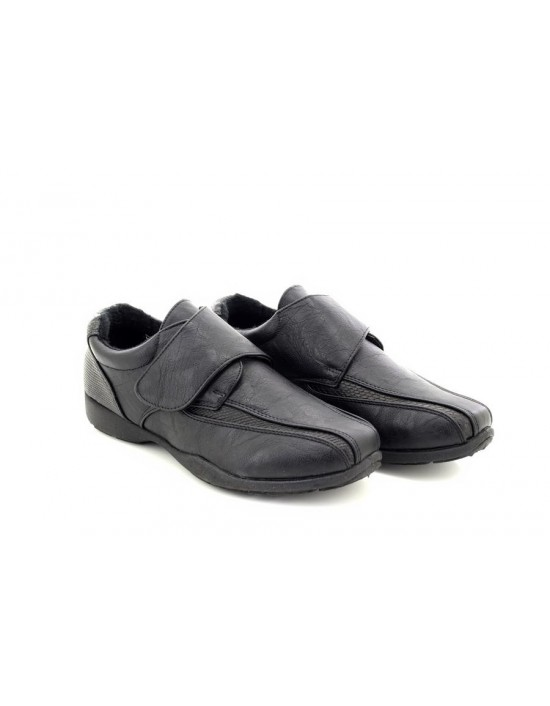 Dr Keller Marie XXX Wide Fit Touch Fastening Bar Furlined Shoes