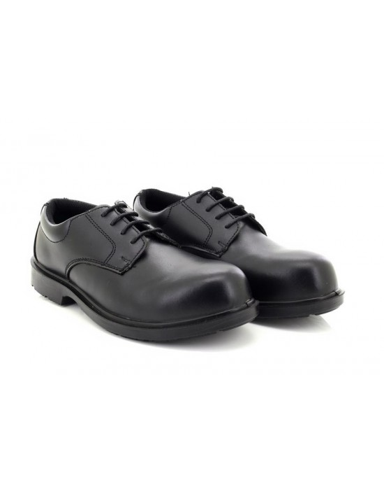 Graters Uniform M9774A Composite Leather Non Metal Plain Work Shoes