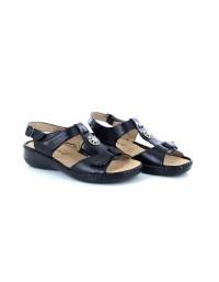 Boulevard L 594 Touch Fastening Halter Back Summer Sandals
