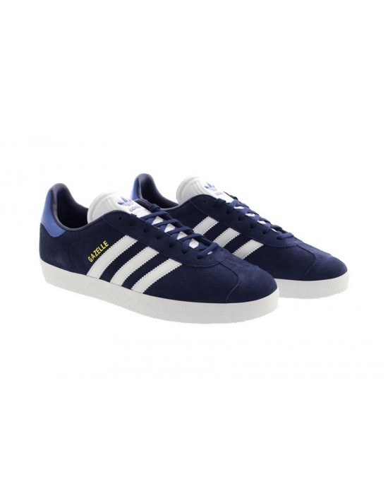 Adidas Men's Gazelle CQ2806 Fitness Trainers Shoes Dark Blue