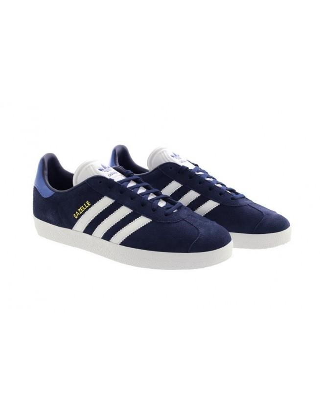 78db26d1ec47 New Adidas Men s Gazelle CQ2806 Fitness Trainers Shoes Dark Blue