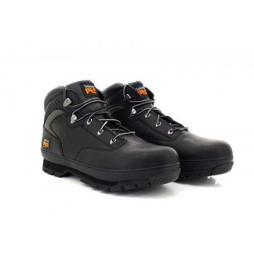 05ceb1d3966 Details about Mens Timberland M1064 Pro Black Euro Hiker 2G Steel Toe  Safety Boots