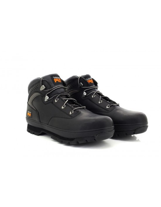 Mens Timberland Pro Black Euro Hiker 2G Steel Toe Safety Boots
