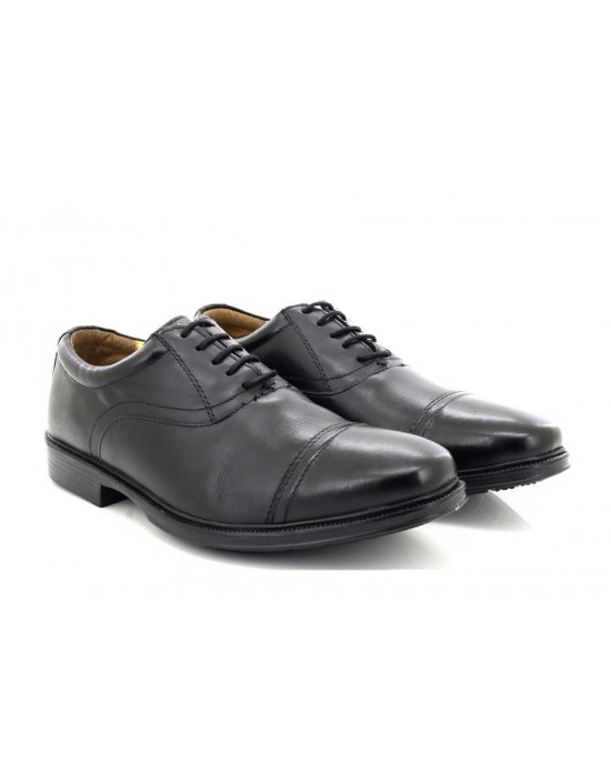 Roamers M355A Leather 5 Eye Capped Oxford Classic Lace Up Shoes