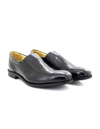 Mens Tredflex Tramline Twin Gusset Casual Square Toe Slip On Leather Shoes