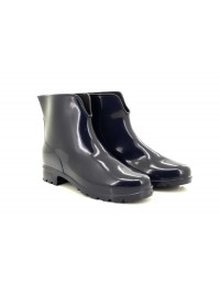 Ladies StormWells Navy Wellington Ankle Boots