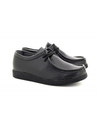 Boys Route21 B157 Jack Lace Up Leather Shoes