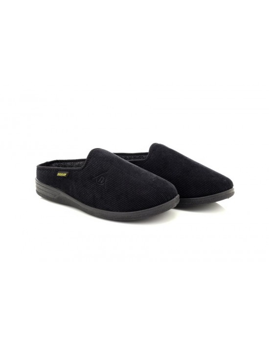 mens-mule-slippers-dunlop-ted-textile-mule-slippers