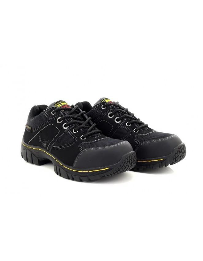 ea9b0c08291 Dr Martens AirWair GUNALDO ST Safety Toe Cap Trainer Shoes - ShuCentre