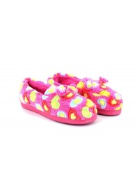 Jyoti Pamela Heart Multi Pom-Pom Full Indoor Slippers Funky Warm Padded
