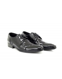 Mens Patent Smart Lace Formal Evening Party Wedding Dress Shoes Size
