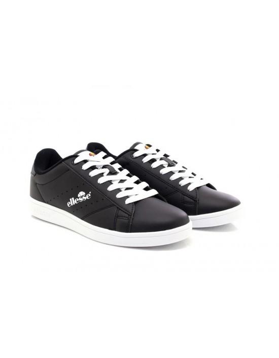 Mens Ellesse Anzia Low Comfort Trainers Black Classic UK Size 7.5 8 9 9.5