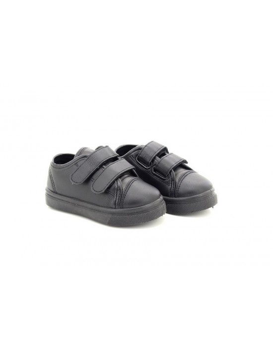 Chatterbox Boy's Albert Formal Black School Shoes