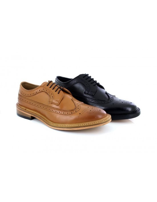 Kensington M930 Classic Leather Executive Formal Brogue Shoes