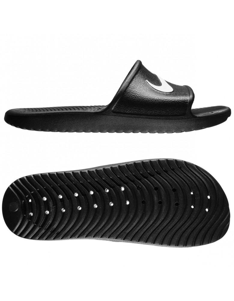 2538a3becb2 NIKE FLIP FLOPS Mens Womens Kawa Slides Beach Pool Sandals Slippers Black  Navy