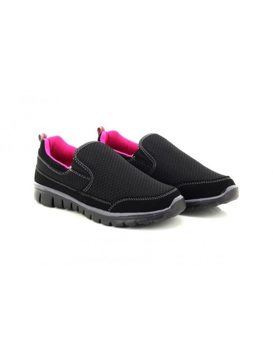 Ladies Dek Saturn T872 SUPERLIGHT Memory Foamed Slip On Trainers