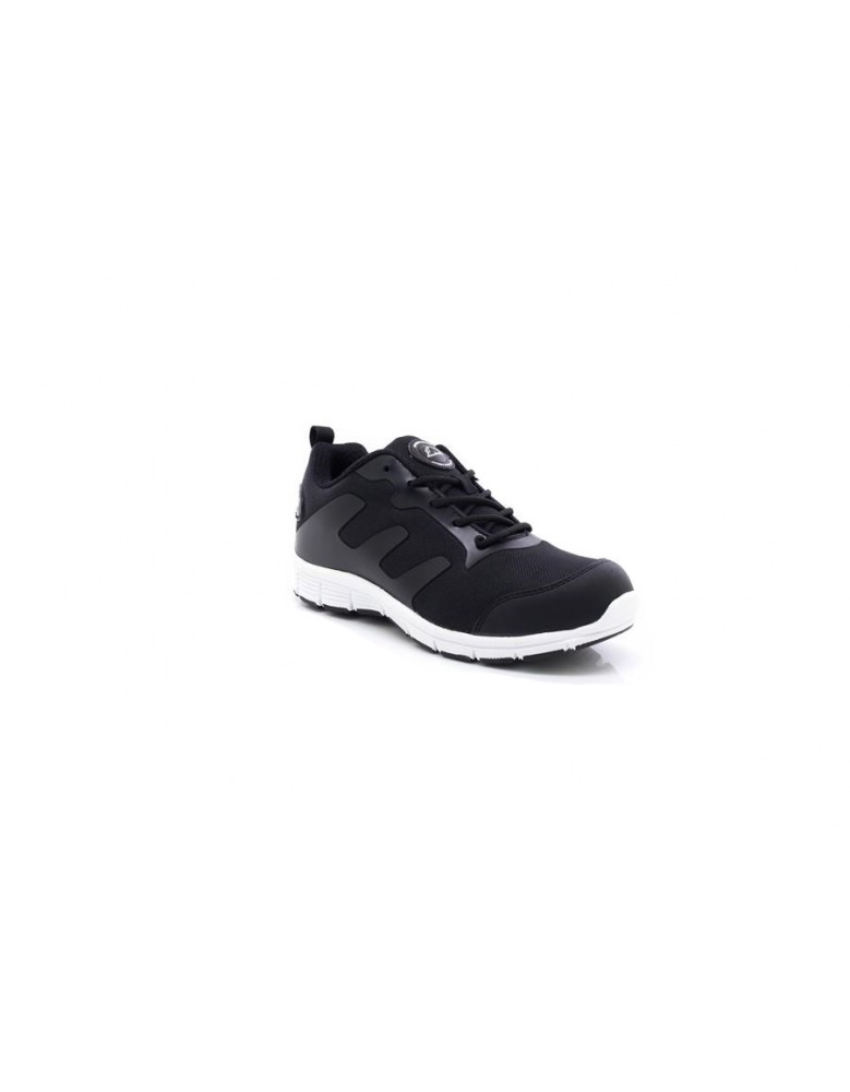new arrivals fbe90 2ef53 Mens Black White Groundwork Ultra Lightweight Steel Toe Cap Safety Tra
