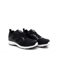 Groundwork Black White Ultra Lightweight Steel Toe Cap Safety Trainers Shoes