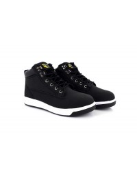Grafters M057A Unisex Black Sports Type Safety Toe Cap Trainer Boots