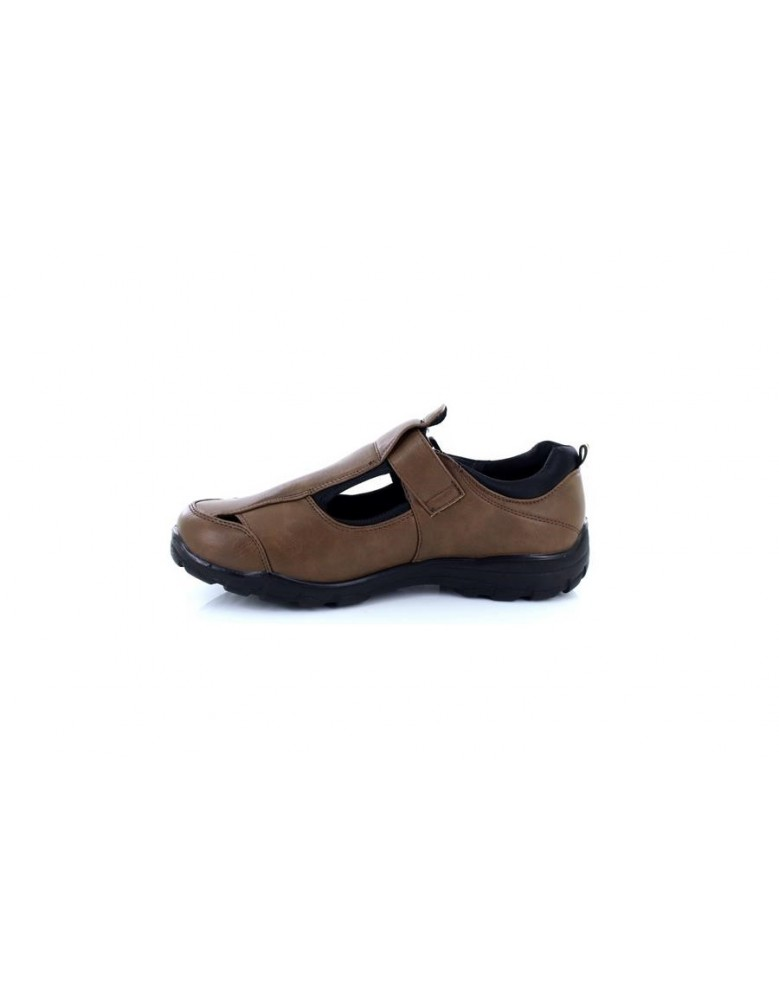 e1a98dc11d8af Dr Keller Justin Closed Toe Summer Shoe Brown Sandals Light Weight UK6
