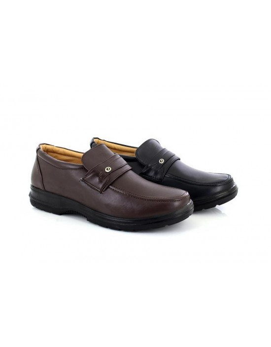 Scimitar M825 Lightweight Apron Saddle Casual Slip On Shoes