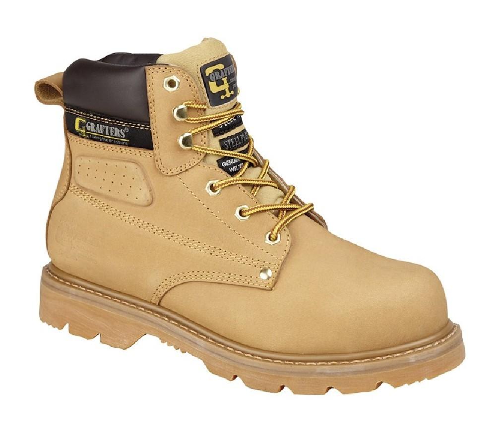 9b7da661dde Grafters Gladiator M538 Industrial Safety Toe Cap Steel Midsole Boots