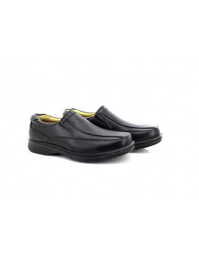 ShuCentre Carl Slip On Lightweight Casual Everyday Smart Formal Shoes