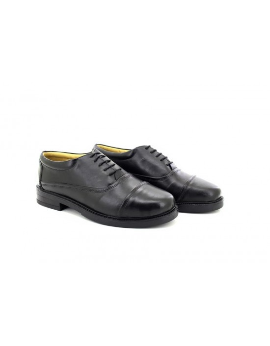 Roamers M571A Leather Capped Classic Oxford 5 Eyelet Shoes