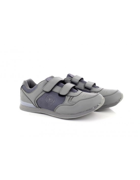 Dek T837 Mens Drive Touch Fastening Trainer-Style Bowling Shoes