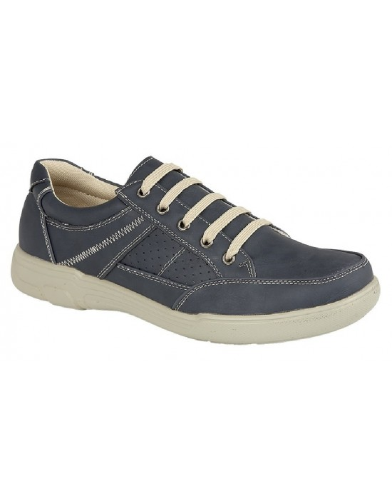 Scimitar Mark Gents 5 Eyelet Lace Up Causal Smart Leisure Shoes