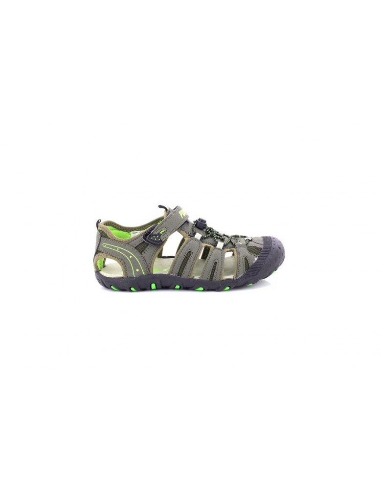 Touch Trail Sandals Toggleamp; Fastening Boys Pdq Dark Taupe thrsQd