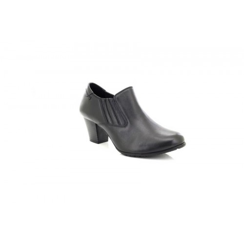 ff26a114040 Comfort Plus Lucia Womens Ladies Wide Fit Black Leather Heels Court Shoes