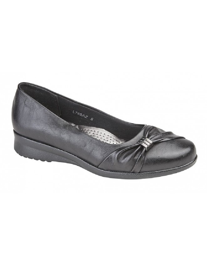 27fb4c1fe16c Boulevard Wedge Sash Vamp Ultra Slip On Padded Shoes
