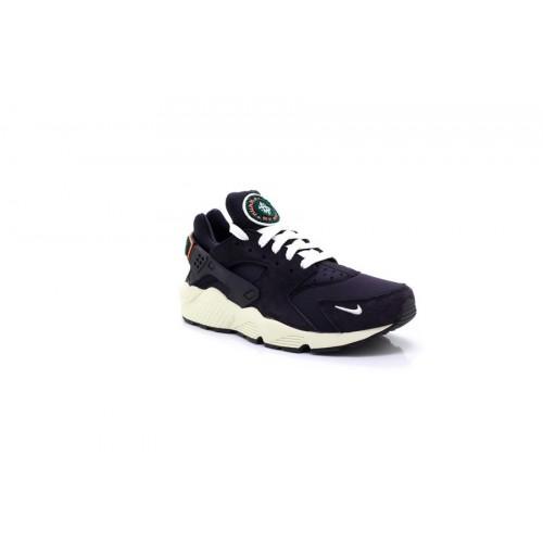 f0480ce622ce Mens Nike Huarache Run Premium Trainers Oil Grey Sail Rainforest 704830015  - UK SIZE 6