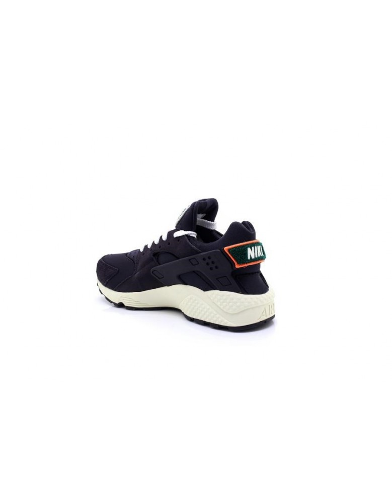 9757bfe3611b Mens Nike Huarache Run Premium Trainers Oil Grey Sail Rainforest 704830015