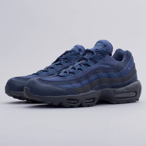 85fb7cebef Nike Mens Air Max 95 Essential Squadron Blue Trainers Size UK 6 7 749766400