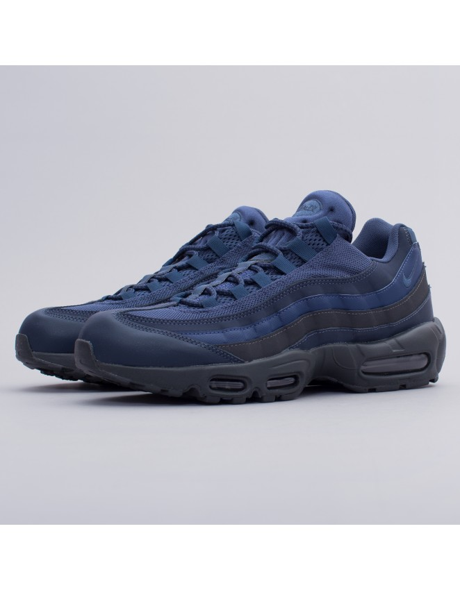 5f6fe2a884 Nike Mens Air Max 95 Essential Squadron Blue Trainers Size UK 6 7 749766400