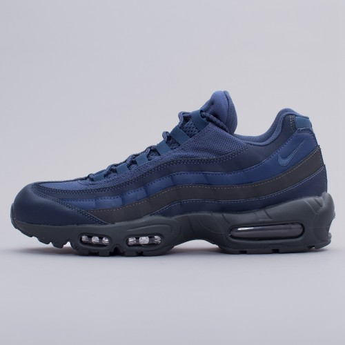 Details zu Nike Mens Air Max 95 Essential Squadron Blue Trainers Size UK 6 7 749766400