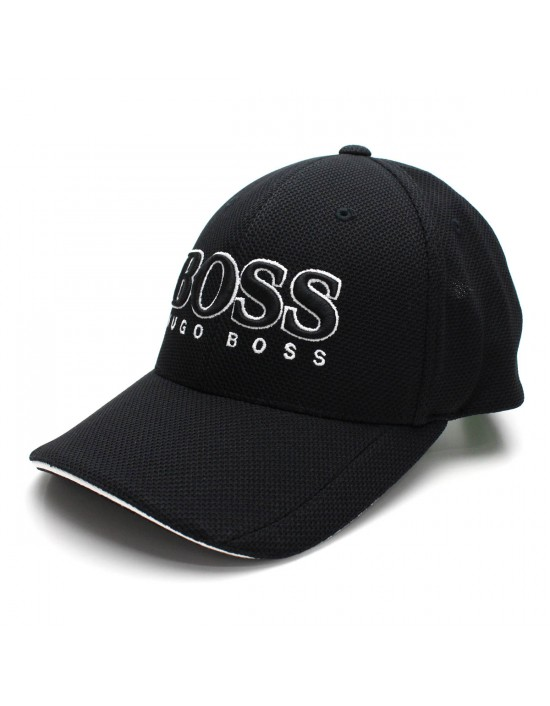 Hugo Boss Green CAP US 50251244 410 Mens Baseball Cap Navy Black