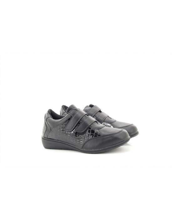 Dr Keller JESS Ladies Womens Touch Fasten Comfy Casual Trainer