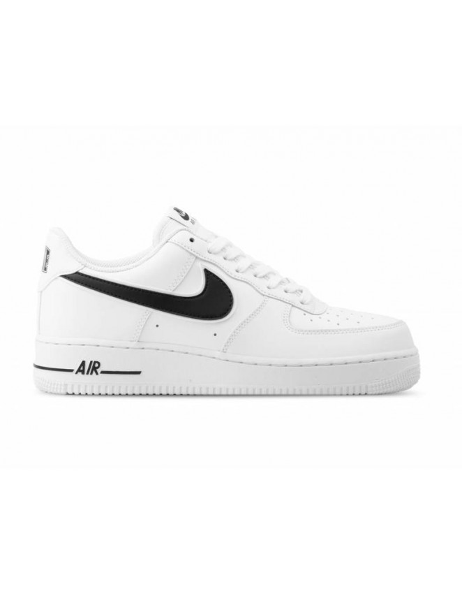 best service 71c3f fb0e7 Mens Nike Air Force 1  07 Leather Trainers White Black UK Size AO2423-101  BNIB 2019