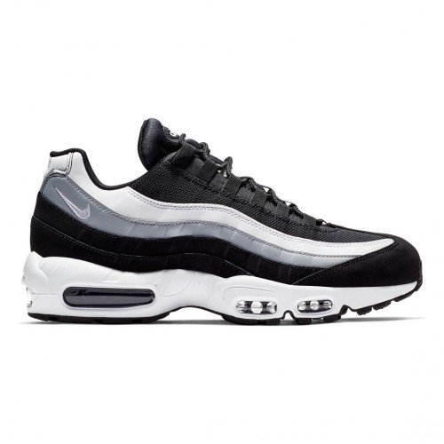 watch 712f6 65256 Nike Air Max 95 Essential Chaussures de course multicolore (Noir   Blanc    Wolf Grey 038)