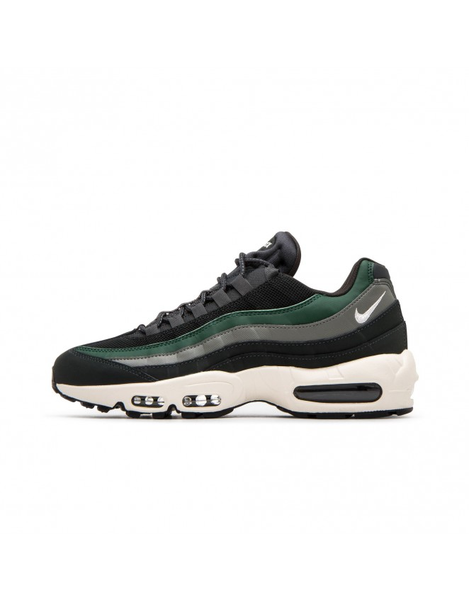 20ee9de93b New Nike Mens Air Max 95 Essential Outdoor Green Sail Trainers