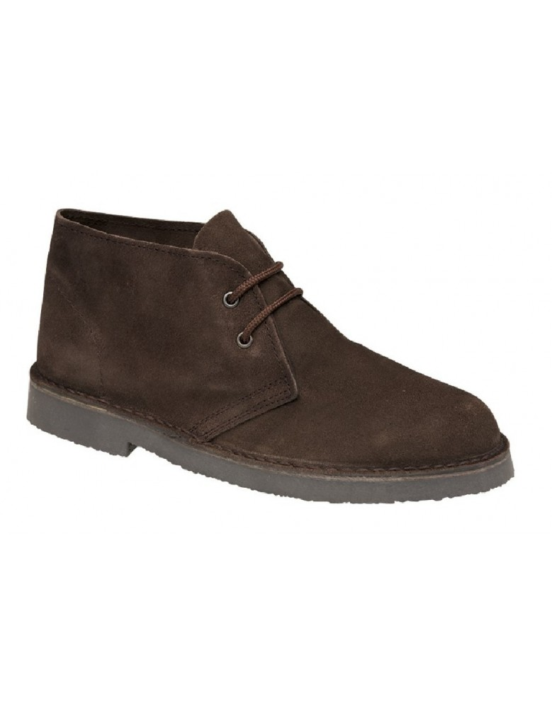 roamers unisex suede leather lace up ankle desert boots